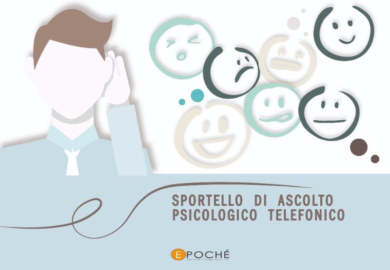SPORTELLO DI ASCOLTO PSICOLOGICO TELEFONICO